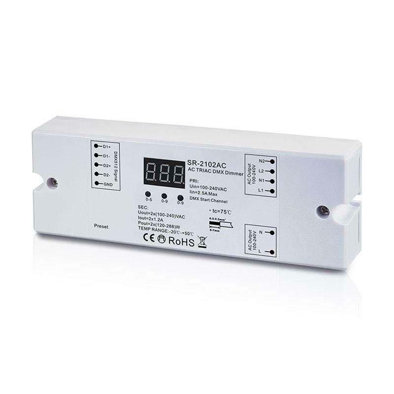 Master/Decoder LB2102HT DMX512-AC